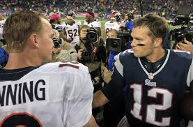 Photo Provided By USA Today Sports http://q.usatoday.com/2013/11/22/denver-broncos-peyton-manning-new-england-patriots-offense-tom-brady/