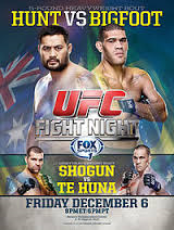 Poster by UFC