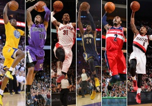 The 2014 Dunk Contest has star power, the defending champion and some intriguing first-timers. (Getty Images)